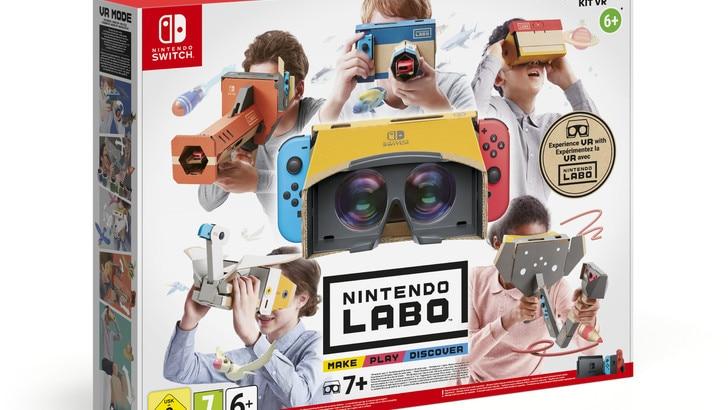Video Game Awards: Nintendo Labo premiato come miglior gioco per famiglie