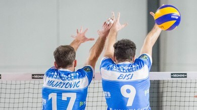Volley: A2 Maschile, Gara 3 dei Quarti: Piacenza-Brescia, Spoleto-Castellana match senza appello