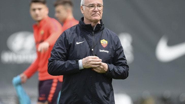 Roma, i convocati di Ranieri per l'Udinese: out Nzonzi