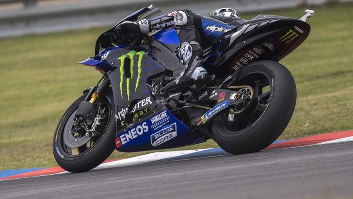 MotoGp Austin: a Vinales le seconde libere, Rossi terzo