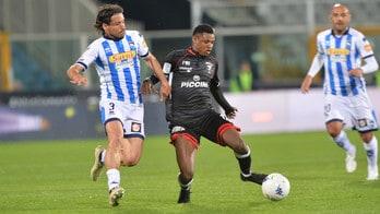 Serie B, Pescara-Perugia 1-1: sblocca Memushaj, pareggia Vido
