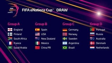 FIFA19: al via la eNations Cup