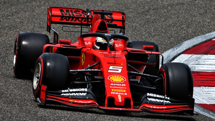 F1 Ferrari, Vettel: «Bella qualifica, ma la gara è lunga»