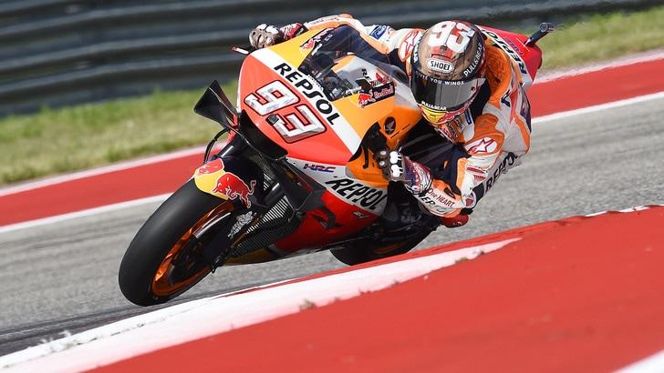 MotoGp Honda, Marquez: «Pochi passi avanti»
