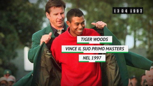 On This Day - Tiger Woods vince il primo Masters
