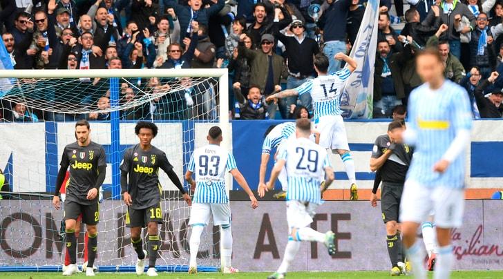 Spal-Juventus 2-1: Kean non basta, festa scudetto rimandata