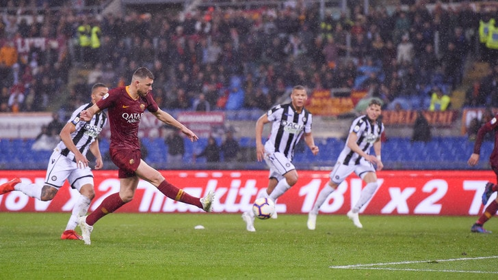 Serie A Roma-Udinese 1-0, il tabellino