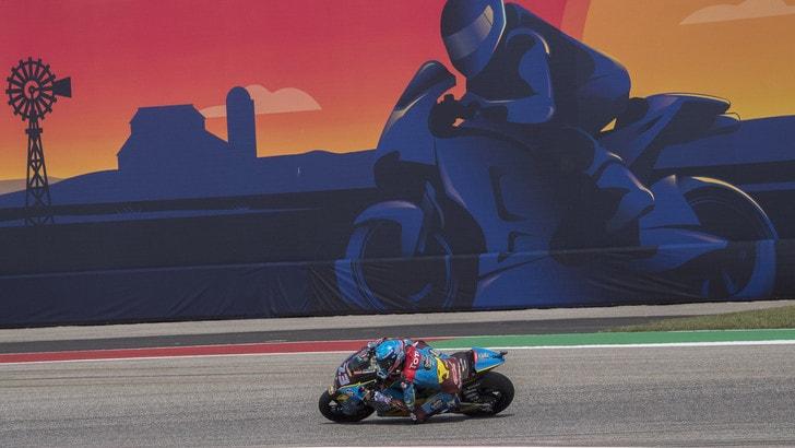 MotoGp Austin: Marquez primo in griglia di partenza, Rossi 2°