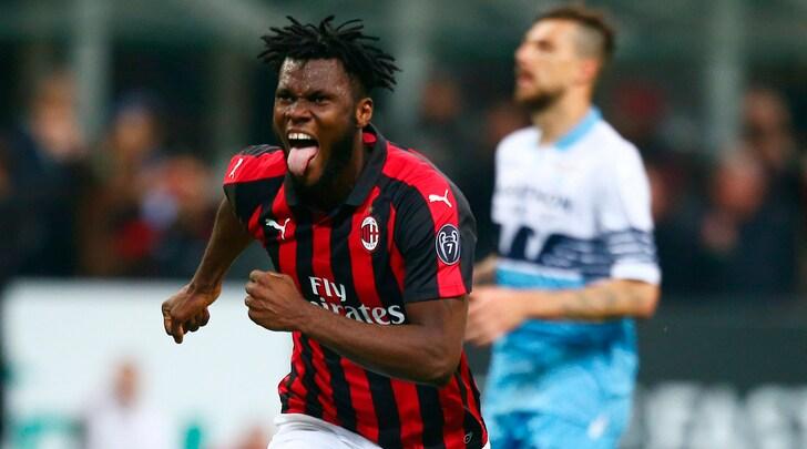 Kessié di rigore, Lazio ko: il Milan è quarto