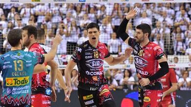 Volley: Superlega, Perugia missione compiuta, eliminata Monza