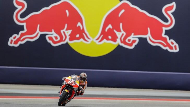 MotoGp Honda, Marquez: «Giornata strana ma è andata bene»