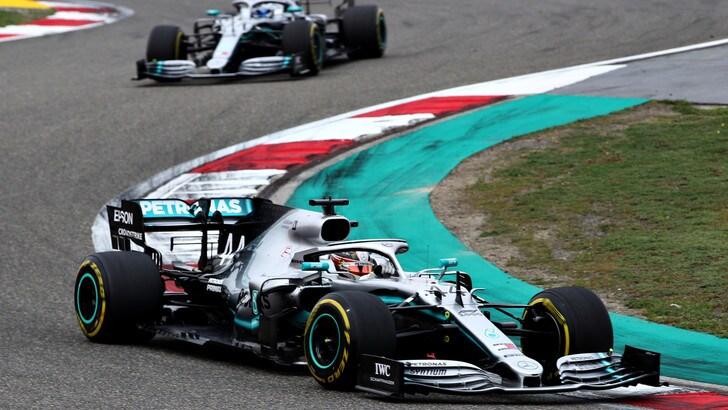 F1 Mercedes, Hamilton: «Doppietta speciale»