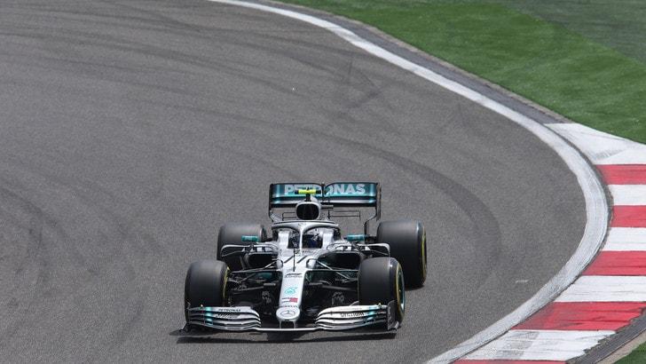 F1 Mercedes, Bottas: «Peccato per la partenza»