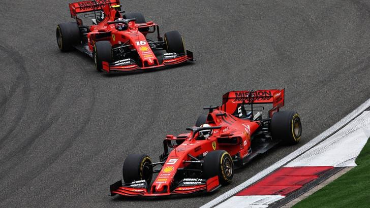 F1 Ferrari, Vettel: «Buon podio, ma Mercedes imprendibili»