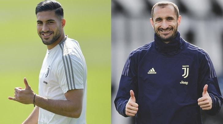 Juve, Emre Can prenota l'Ajax. Per Chiellini si decide oggi
