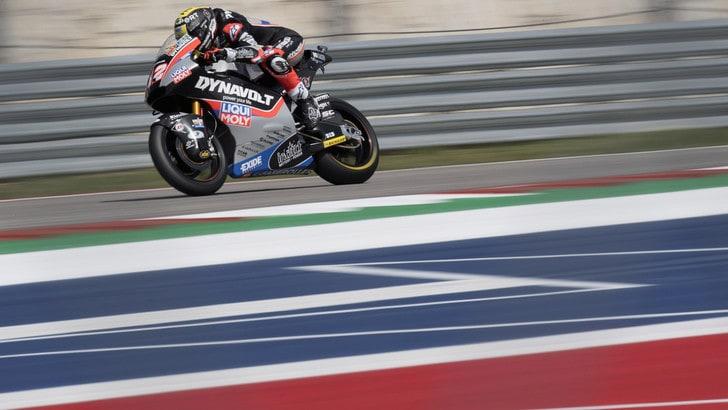 Moto2 Austin: vince Luthi, Pasini quarto