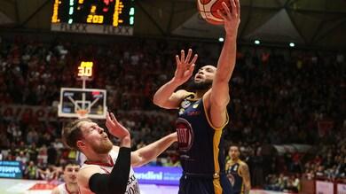 Basket, Serie A: a Torino la sfida salvezza contro Pistoia