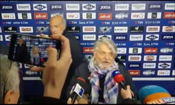 """Sampdoria, Ferrero: """"Ultimo derby? Attaccatevi.."""""""