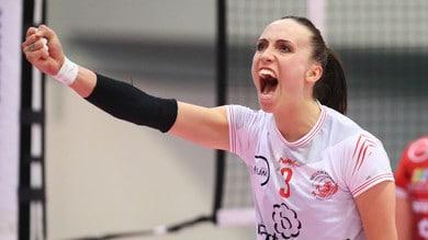 Volley: A2 Femminile, Perugia trema poi festeggia la promozione