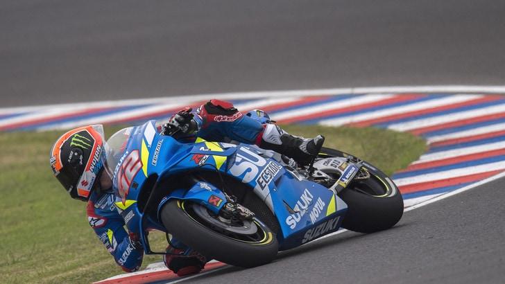 MotoGp Suzuki, Rins: «Rossi è il mio idolo, è incredibile»