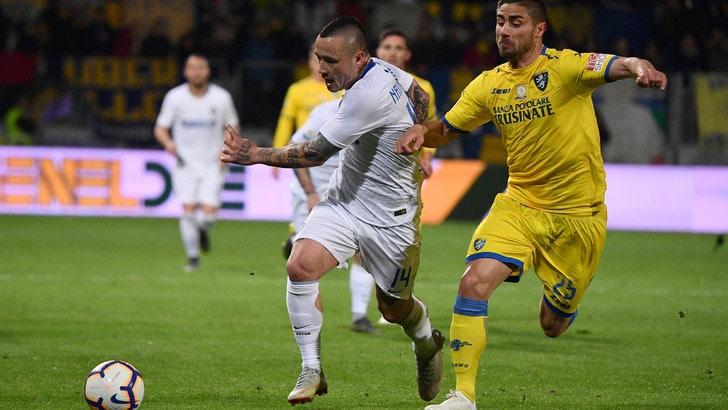 Serie A Frosinone-Inter 1-3, il tabellino