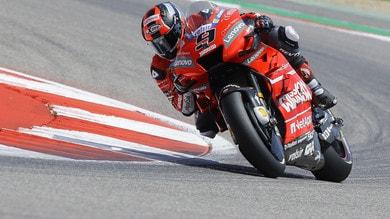 MotoGp Ducati, Petrucci: «Buon risultato in Texas»