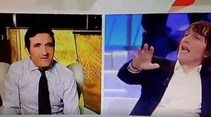 Cairo a Cruciani: «Sei una capra». Lite furibonda in tv