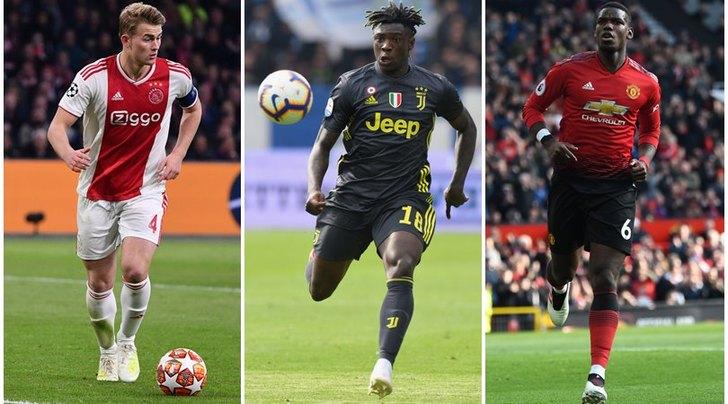 Juve, Raiola atteso a Torino: Kean, De Ligt e Pogba in ballo
