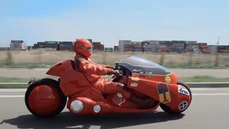 """Giappone, ricostruita la moto di """"Akira"""""""