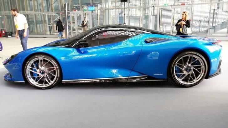 Battista Pininfarina, debutto italiano per l'hypercar elettrica