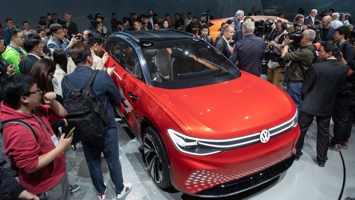 Salone di Shangai, Volkswagen protagonista con Suv: ID. Roomzz
