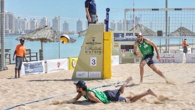 Beach Volley: Daniele Lupo fermo 30 giorni per un infortunio alla mano