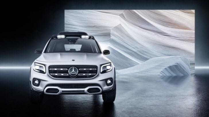 Mercedes GLB Concept, la presentazione al Salone di Shanghai