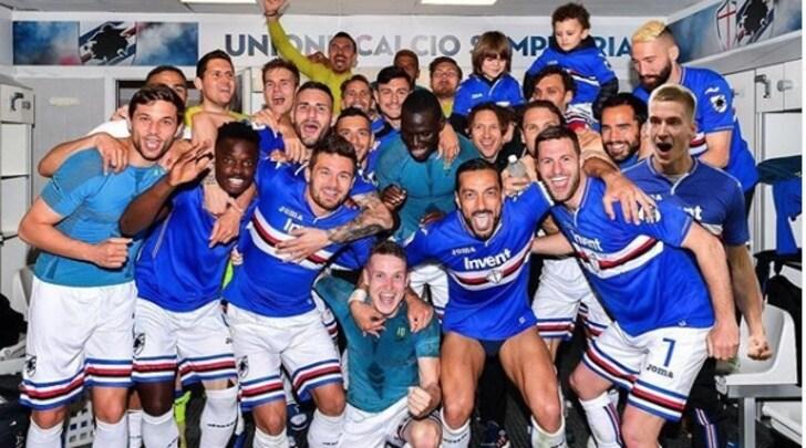 La Sampdoria gioisce, Praet è all'antidoping: si vendica con Photoshop