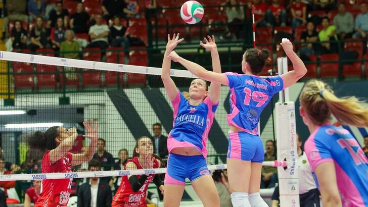 Volley: Play Off Femminili, Novara e Monza in Semifinale