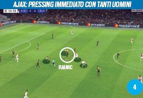 Juve, con l'Ajax a tutta profondità: Pjanic e Emre Can le chiavi