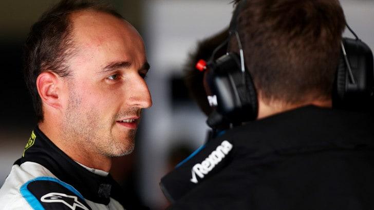 F1 Williams, Kubica: «La mia macchina non ha tenuta»
