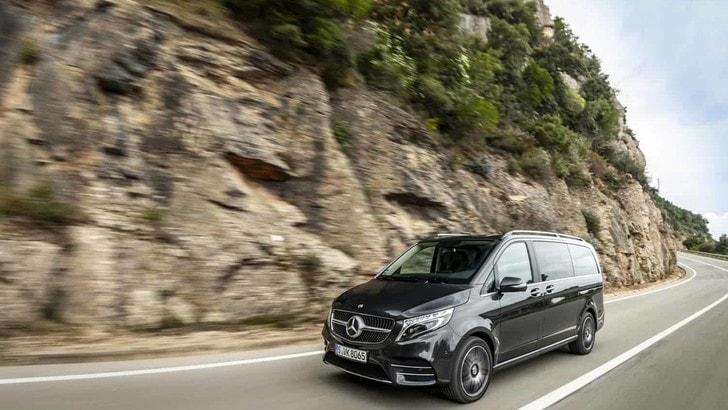 Mercedes Classe V, la prova su strada