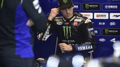 MotoGp Yamaha, Viñales: «Non ho capito il messaggio di penalità»