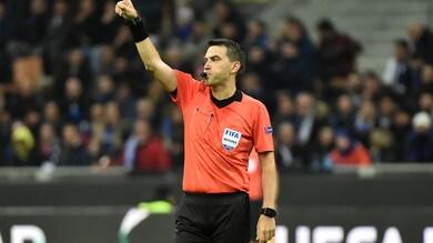 Europa League Napoli, il rumeno Hategan dirige la gara con l'Arsenal