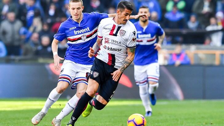 Serie A Cagliari, Deiola e Cacciatore hanno lavorato a parte