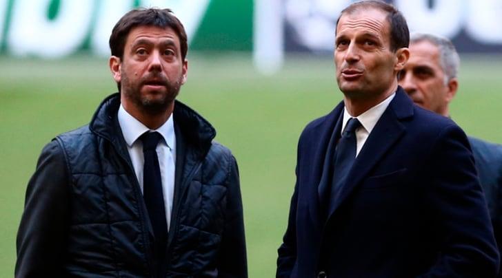 Agnelli blinda Allegri: «Resta alla Juve. Bravo Ajax, Champions rimane obiettivo»