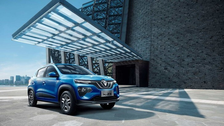 Renault CITY K-ZE, il mini suv globale ed elettrico