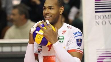 Volley: Superlega, l'MVP dei Quarti di Finale è Yoandy Leal