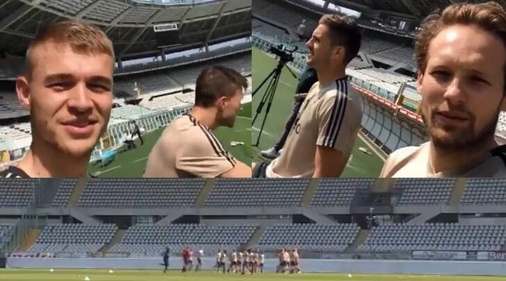 Champions League, l'Ajax si è allenato al Grande Torino dopo il successo contro la Juve