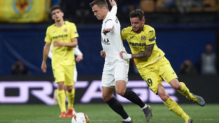 Europa League, Valencia-Villarreal: impresa gialloblu a 65
