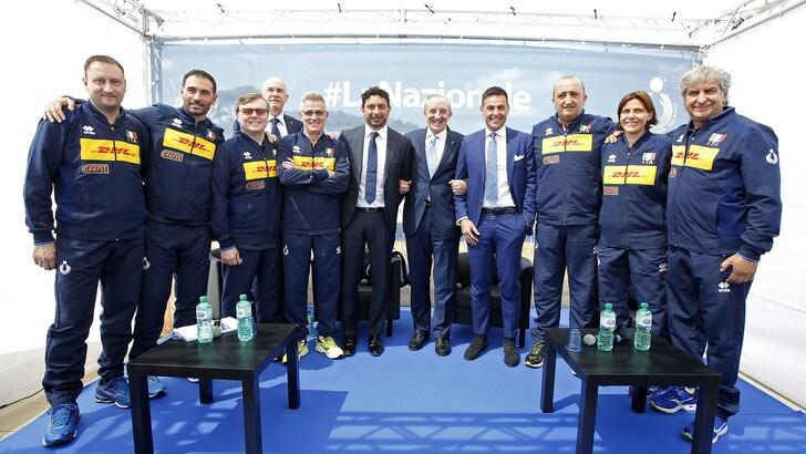 Volley: Blengini e Mazzanti hanno presentato l'attività delle nazionali