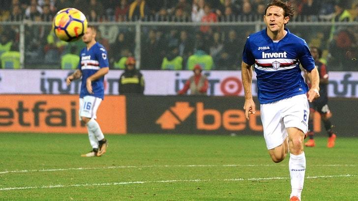 Serie A Sampdoria, Barreto assieme al gruppo dei meno impegnati
