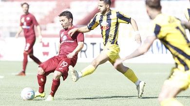 Serie C, Viterbese-Cavese 1-3: Favasuli, Rosafio e Fella lanciano i campani