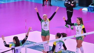 Volley: Play Off A2 Femminile, in Gara 1 dei Quarti ok Orvieto e Caserta